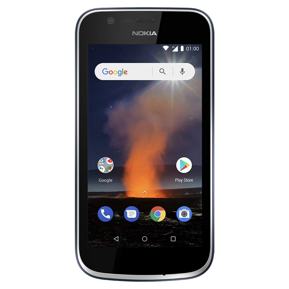 Nokia 1 - Android One (Go Edition) - 8 GB - Dual SIM LTE Unlocked Smartphone