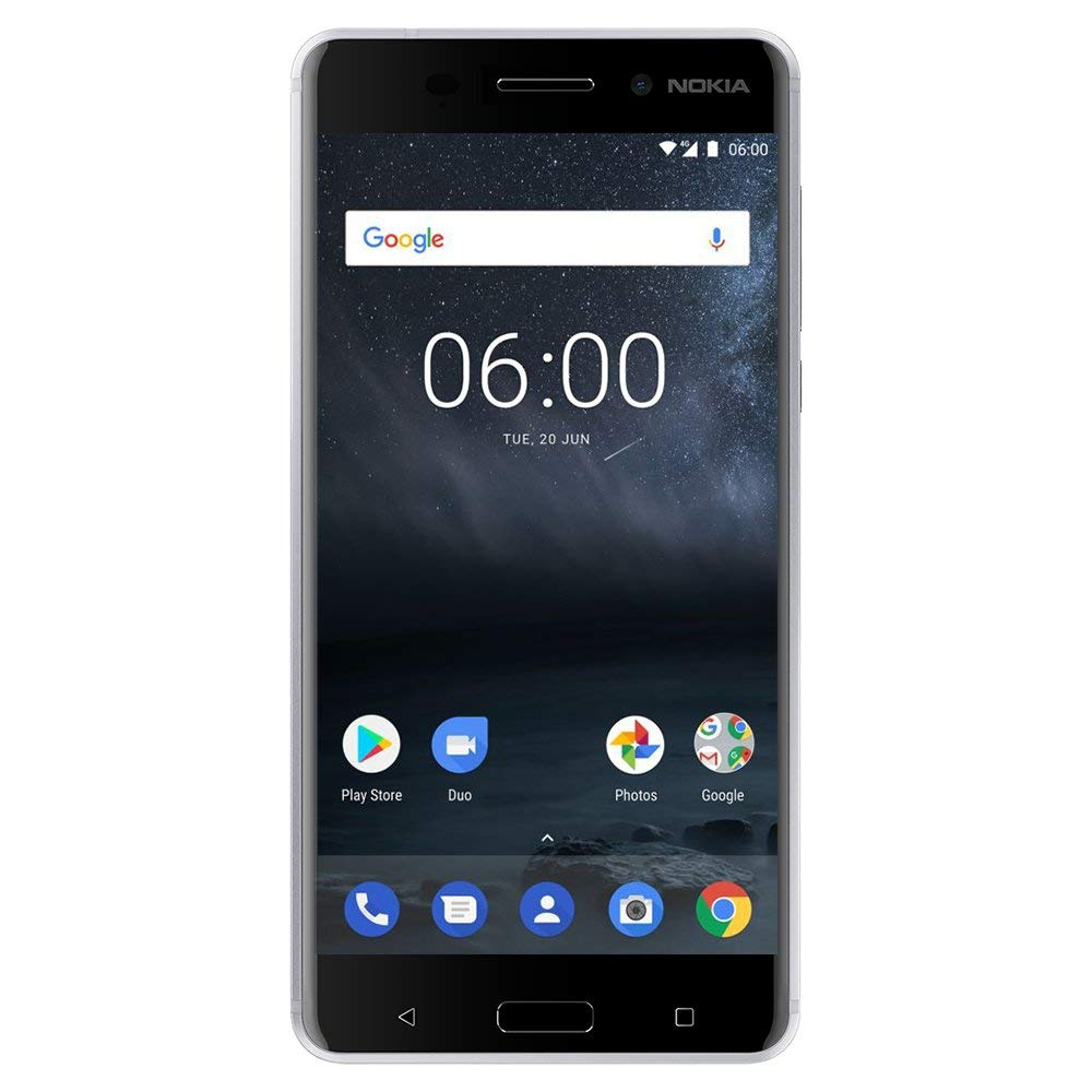 Nokia 6 - Android 8.0 - 32 GB - 16MP Camera