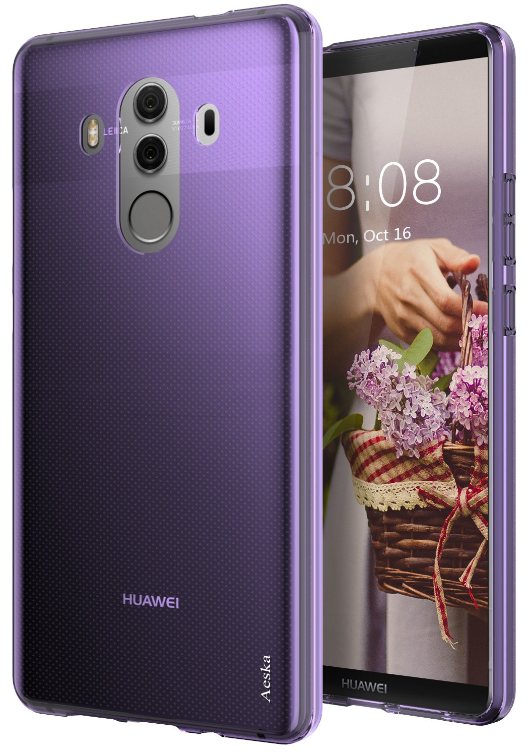 Huawei Mate 10 Pro Case, Aeska Ultra [Slim Thin]